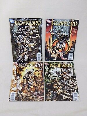 DC Comics Enter the Lost World of The Warlord, Issues 4, 5, 7, 8
