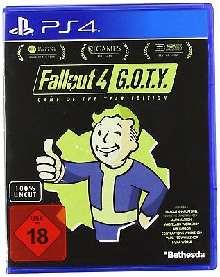 PS4 Game Fallout 4 - Game of the Year Edition Goty New