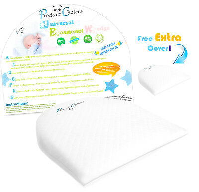 Universal Bassinet Wedge Baby Pillow   Side Pregnancy Pillow   Baby Pillow
