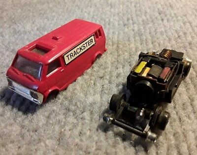 Bachmann HO Scale Trackster Motorized Inspection Ford Van