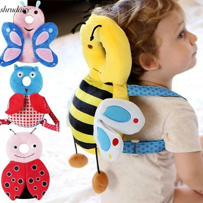 Baby Adjustable Strap Anti Fall Pillow for Learning Walk Sitting Head S5DY 01