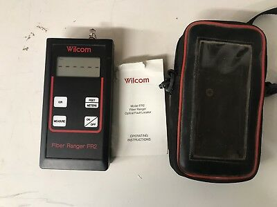 Wilcom Fiber Ranger Fr2 Optical Fault Locator                  2D