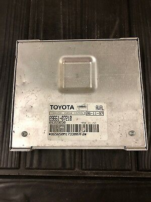 1998 Toyota Avalon Engine Control Unit ECU 8966107211 Module 31 14K1