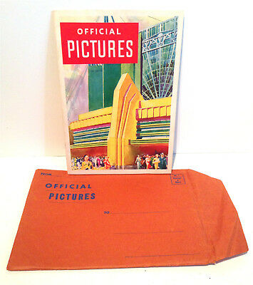 Official Pictures of A Century of Progress Exposition Chicago World's Fair 1933