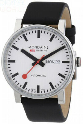Mondaine Official Swiss Railways Men's Watch Evo Big Transparent Case Back