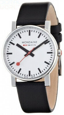 Mondaine Official Swiss Railways Watch Evo Men's Watch, Quartz with Black...