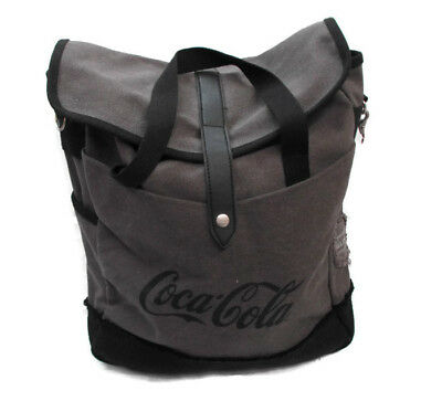 Coca-Cola Tablet Laptop Bag Lined Padded Gray - BRAND NEW