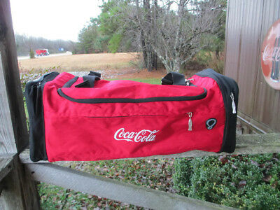Coca-Cola Colorblock Sports Canvas Gym Bag  - BRAND NEW
