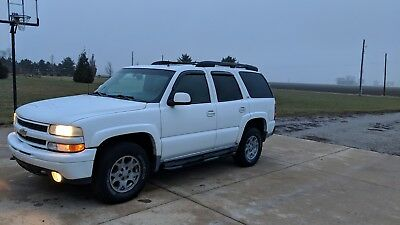 2002 Chevrolet Tahoe Z71 2002 Tahoe Z71 4x4 Newer Trans Engine and Parts Video Sharp White Z71 tahoe!