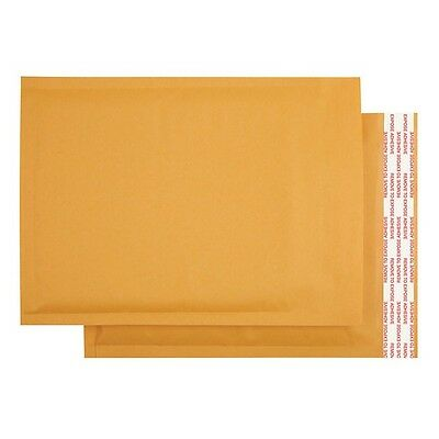 "50 000 4x8"" Kraft Bubble Mailers Shipping Padded Envelopes Self-Seal Bubbles"