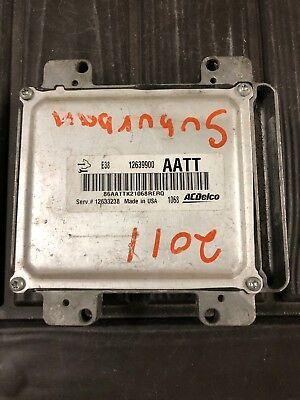 2010-2013 Chevy Silverado 1500 Express Escalade Ecm Ecu #12633238 12639900