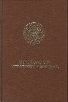 Opinions of The Attorney General, Oklahoma Vol 21 (1989) 30-Day Returns Free S/H