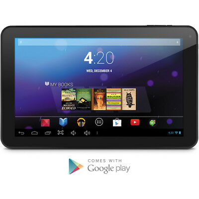 """EMATIC 10"""" Dual Core w/ Android 4.2 Jelly Bean Black Tablet  EGD103 NEW IN BOX"""