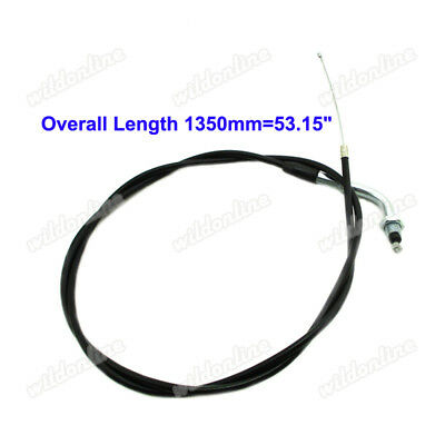 """53""""Throttle Cable For Pit Dirt Bike Mini Chopper Gas Scooter ATV Quad Motorcycle"""