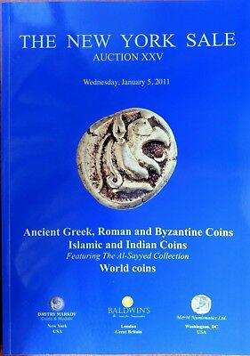 New York Sale Auction XXV Ancient Greek Roman Byzantine Islamic Indian Al-Sayyed