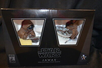 Star Wars JAWAS Mini Bust 2-pack GENTLE GIANT SEALED