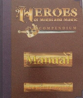 Heroes of Might and Magic Compendium PC Manual *Only*