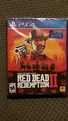 Red Dead Redemption 2 - PlayStation 4 PS4 NEW, Unopened
