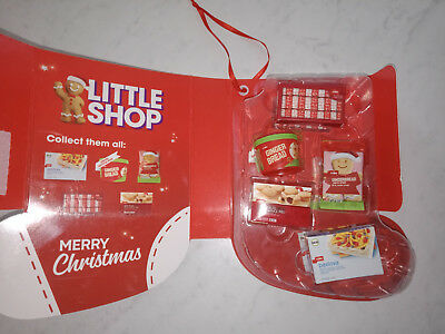 Coles Little Shop Collector's Case Full Complete Set Of Minis Christmas Edition