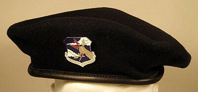 USAF US Air Force Security Police Strategic Air Command SAC Crest Badge  Beret 3 d348ccb511e