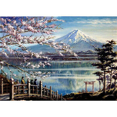 Full/Half Drill 5D Diamond Painting Home Landscape Art Wall Mural DIY Decoration
