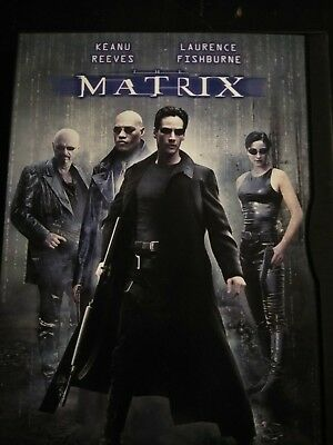 The Matrix (DVD, 1999) Keanu Reeves, Laurence Fishburne D1