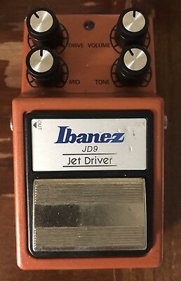 Ibanez JD9 Jet Driver Guitar Effects Pedal USED 2309