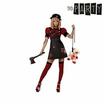 Costume per Adulti Th3 Party Bambola sanguinaria Taglia:XS/S