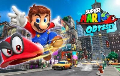 Super Mario Odyssey for the Nintendo Switch (FAST SHIPPING)