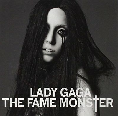 Used LADY GAGA THE FAME MONSTER DELUXE EDITION CD/DVD Album Music Japan