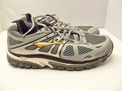 cbfc2f454c2 BROOKS BEAST 14 Mens Running Shoes US Size 9 4E Extra Wide Gray ...