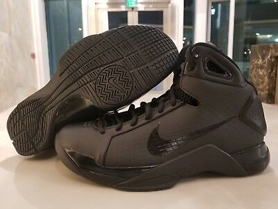 7b33d2d6a4d7 Nike Hyperdunk 08 Retro Men s Basketball Shoes Triple Black SZ (820321-002)