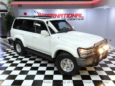 1994 Toyota Land Cruiser 4dr Wagon 1994 Toyota Land Cruiser FJ80 Limited 4x4 3rd Row Rust Free California Truck WOW
