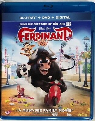 Ferdinand Blu Ray Dvd 2 Disc Set Free World Wide Shipping Buy It Now Family Kids