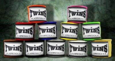 UK Stock Twins Special CH-5 New Logo Hand Wraps Check out the colors !!!
