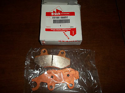 Suzuki  brake pad set 59100-09850  LT-F500F  model Y-K1-K2  1998-2002 LT-A500F
