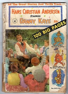 Hans Christian Anderson Starring Danny Kaye (Photo Cover) - Poor Condition