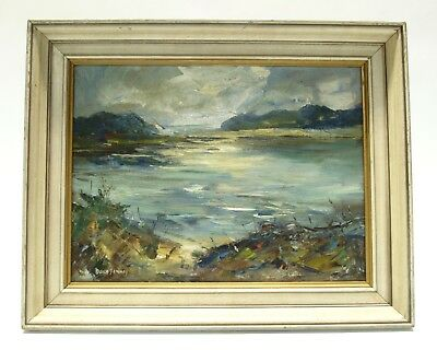 Doris Jenney (American 1912 - 1996) Seascape Oil Painting Signed