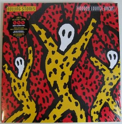 The Rolling Stones - Voodoo Lounge Uncut - Limited Edition Red Vinyl 3 Lp Set