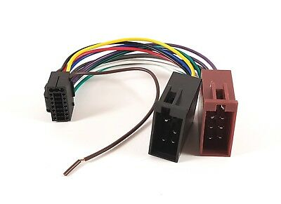 PANASONIC 16 PIN ISO Head Unit Wiring Harness Connector ... on