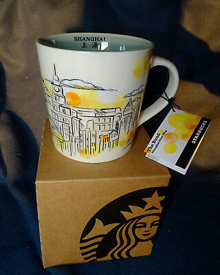 Starbucks Sammler Tasse The Bund Shanghai China City Mug