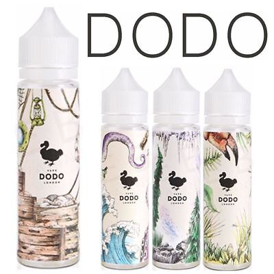 Dodo 80/20 Vape Premium eliquid Vape Juice 50ml Short Fill 0mg +/- Nic shot