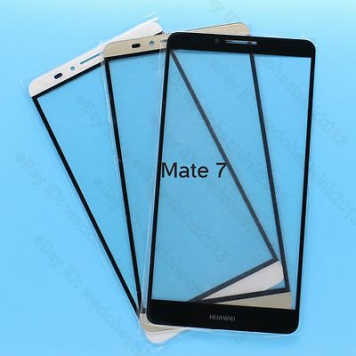 Front Outer Glass Lens Touch Screen Panel Replacement For Huawei Ascend Mate 7
