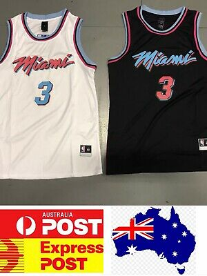 Miami Heat Dwyane Wade City edition jersey, Melbourne Stock, Express post