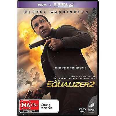 The Equalizer 2 Dvd, New & Sealed, 2018 Release, Region 4, Free Post