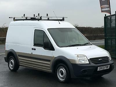 Ford Transit Connect 1.8Tdci 90Bhplwb Van In White. One Owner. Euro 5