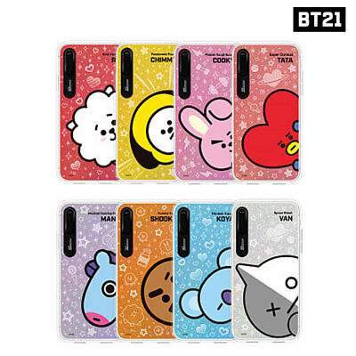 BTS BT21 Official Authentic Goods Sneak Peek Graphic Light UP Case for iPhone
