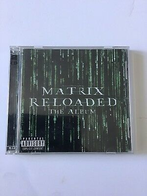 Matrix Reloaded The Album, Music Soundtract, Double Albums, Used CD,s