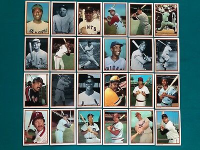 1985 Topps Collectors Series Circle K Complete 33 Card Baseball Set w/ Babe Ruth