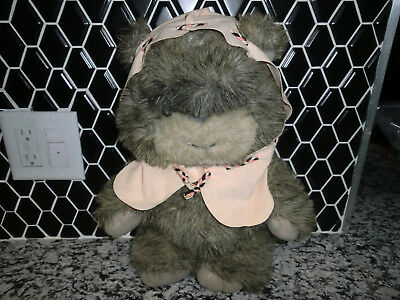 Vintage 1984 Star Wars ROTJ Latara Ewok Stuffed Plush Kenner w/Original Tags!!